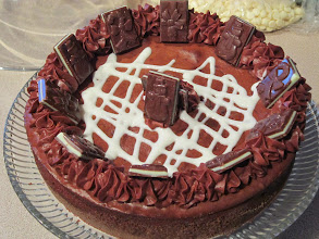 Photo: Dutch Oven Chocolate Cheese Cake