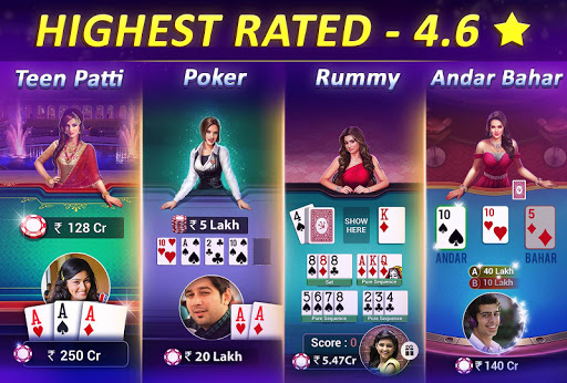 Teen Patti Gold - 3 Patti, Rummy, Poker Card Game screenshot 2