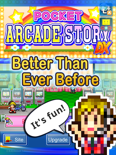 Pocket Arcade Story DX - screenshot