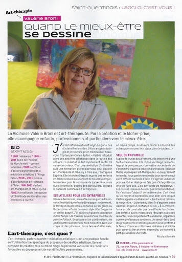 Article Espéria Petit Quentin