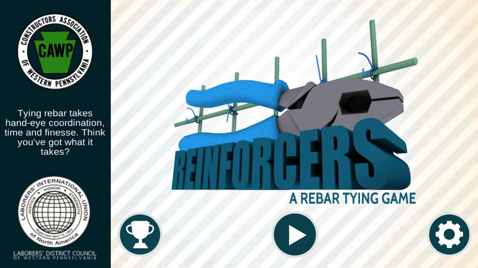 Reinforcers A CAWP Arcade Game- screenshot
