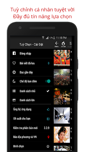 Báo Mới - Doc Bao Moi HD Tin Tuc 24h screenshot 5