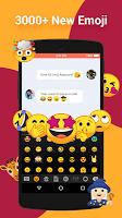 screenshot of UK English Dictionary - Emoji Keyboard