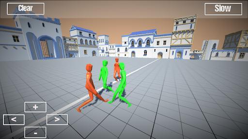 Ragdoll battle simulator apktram screenshots 2