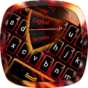 Red Flame GO Keyboard theme icon
