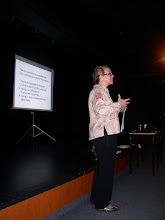Photo: Mary Lou McCloskey - Plenary at ABS Congress on Teacher Competencies in CLIL