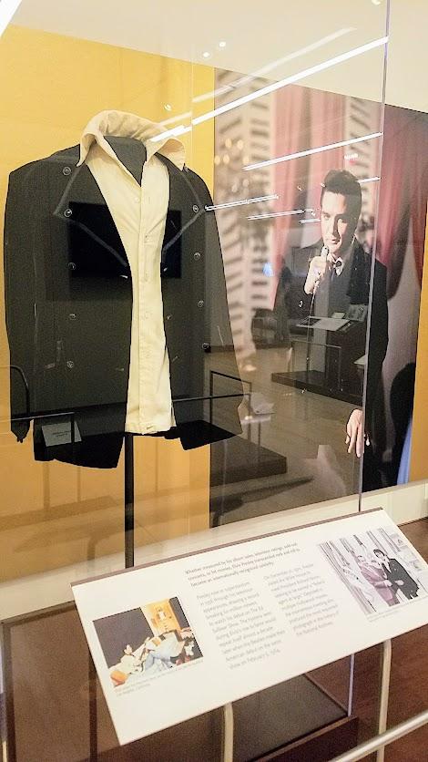 Music Instrument Museum (MIM) exhibit on contemporary music icons included Elvis