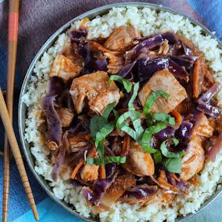 Chicken Cabbage Curry.