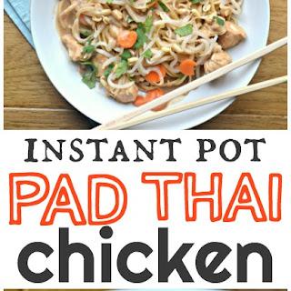 Instant Pot Pad Thai Chicken.