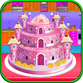 Princess Castle Wedding Cake Maker