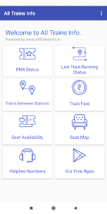 All Trains Info & PNR Status – IRCTC Railway App Download For Android 1