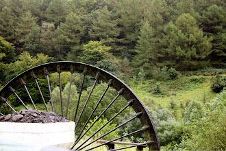 Photo: Entering Cwmcarn Forest. I don't know why Welsh is spelled like gibberish either.