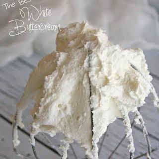 White Buttercream Frosting.