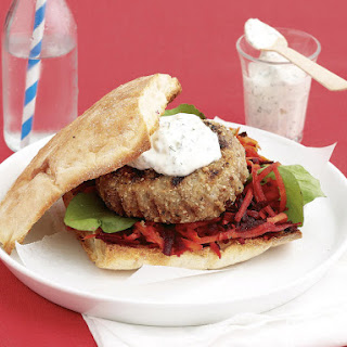 Dukkah Lamb Burgers
