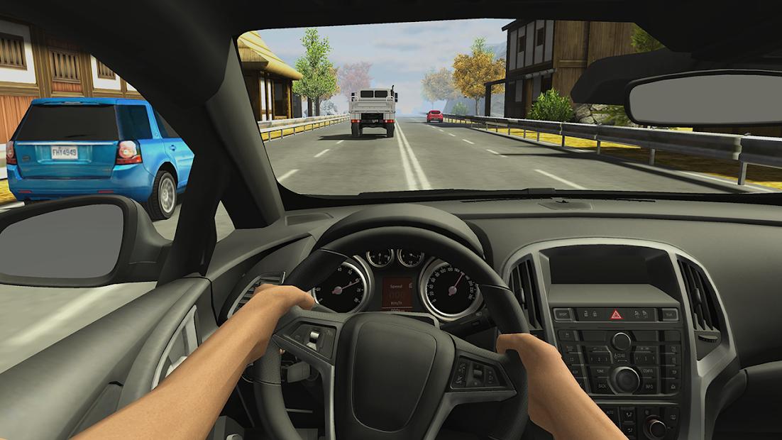 Racing in Car 2 Android App Screenshot