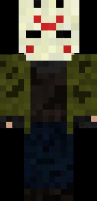 Jason Voorhees Nova Skin - Skins para minecraft pe jason