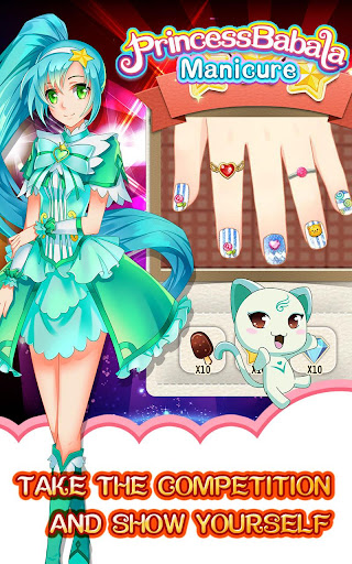 Magic Princess Manicure - screenshot