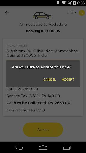 OneWay.Cab Partner  screenshots 1