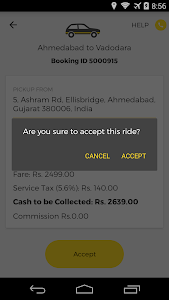 OneWay.Cab Partner screenshot 0