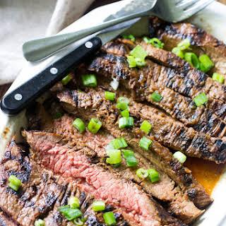 Paleo & Whole30 Marinated Flank Steak.