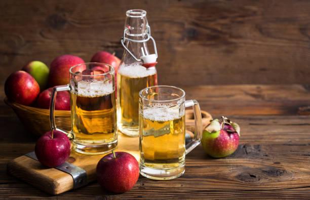 Sidra bebida de manzana