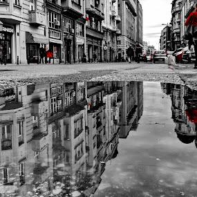 Redly by Zoran Nikolic - City,  Street & Park  Street Scenes ( reflex city town )