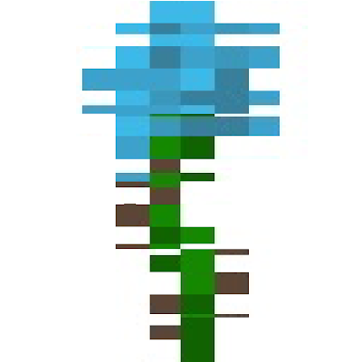 The removed flower from mcpe