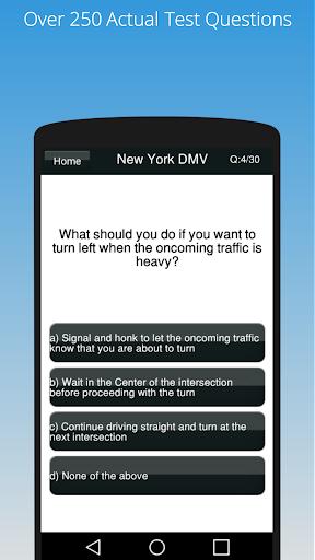 Free New York DMV Test 2018  screenshots 2