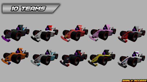 Code Triche Mini Formula Racing apk mod screenshots 1