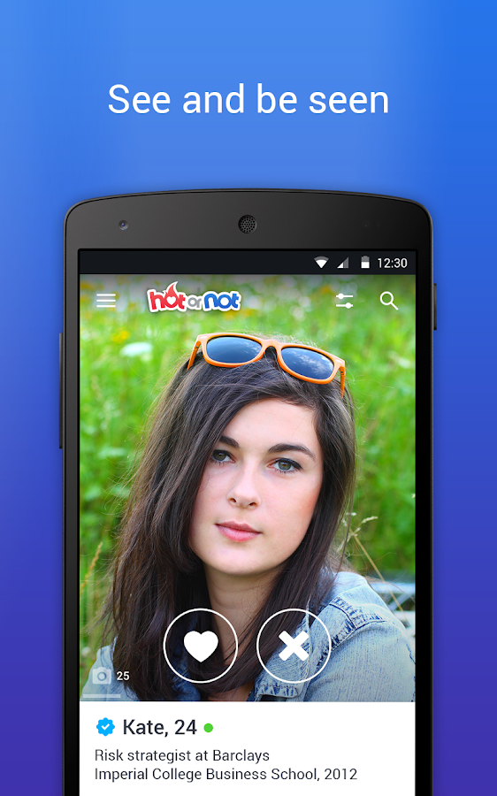Hot or Not- screenshot