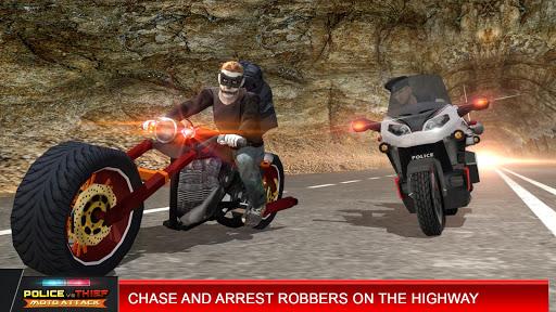 Police vs Thief MotoAttack 1.0 screenshots 5