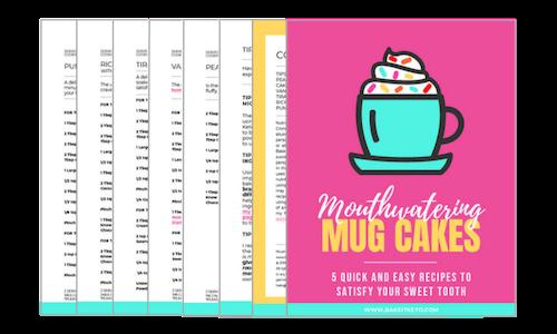 Keto Mug Cakes eCookbook Pages Spread