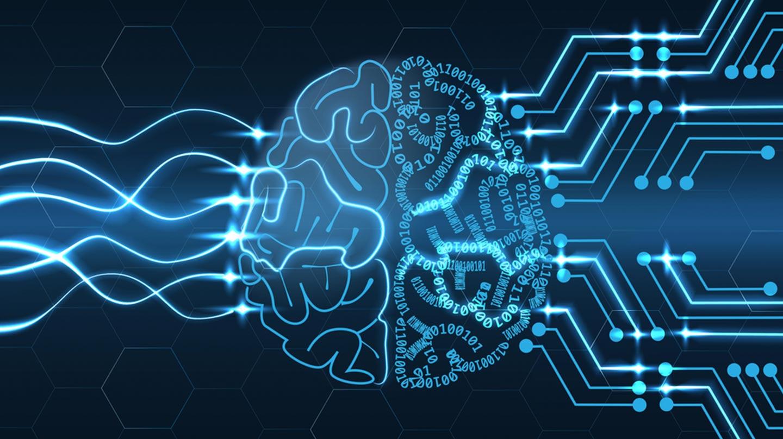AI brain image