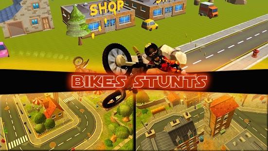 Crazy Bike Stunts 3D screenshot