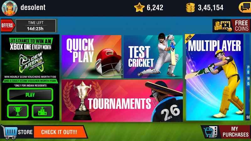 World Cricket Championship 2 - WCC2 Screenshot 1