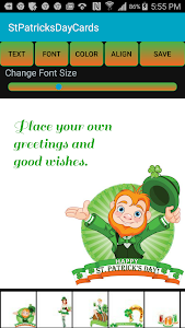 Free St. Patrick's Day eCards screenshot 0