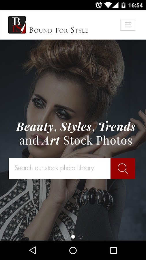 Stock Images – Bound for Style- screenshot