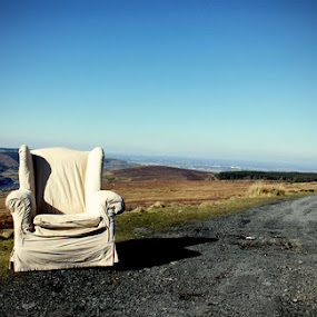 Sally's Chair by Oona Tully - Landscapes Mountains & Hills