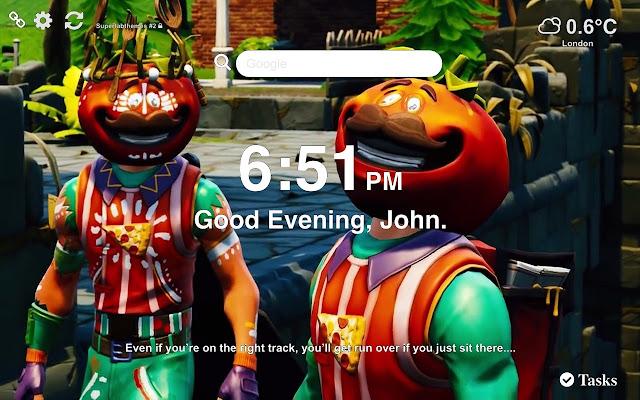 Tomatohead Fortnite Skin Wallpaper 2019