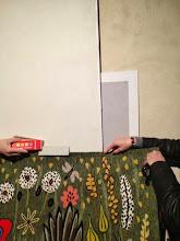 Photo: Essais couleurs cimaises et murs - janv 2014