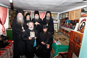 Photo: Архиереи и свещеници в килията на светител Гликерий.