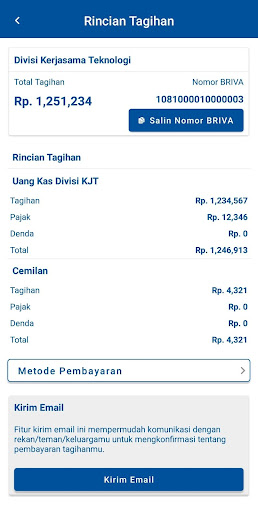 Download Aplikasi BRI Smart Billing APK