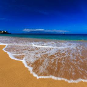 Kaanapali Beach, Maui,HI by Daljit Singh - Landscapes Beaches ( maui, vacation, ocean, beach, hawaii,  )