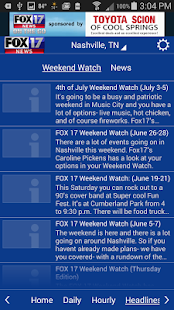 WZTV WX- screenshot thumbnail