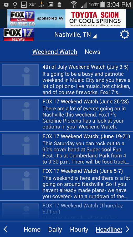 WZTV WX- screenshot