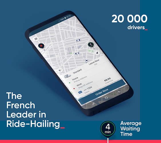 Kapten - Previously Chauffeur Privé Android App Screenshot