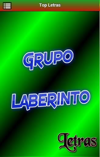 Letras Grupo Laberinto