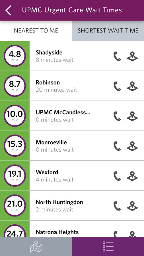 UPMC Health- screenshot