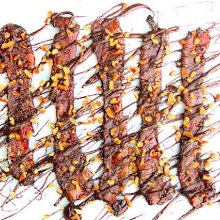 Smoked Chocolate Candied Bacon.