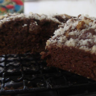 Coconut Brownie - Whole Wheat